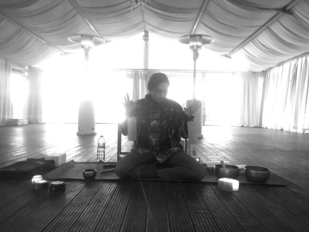 Kalina Radicheva meditate