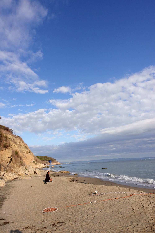 meditation on the beach, Plan To be program
