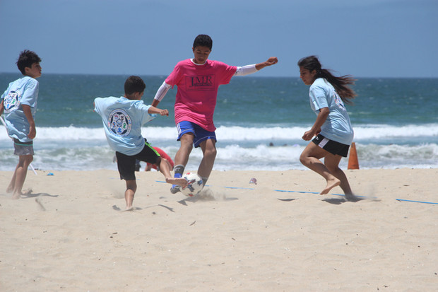Valley Center TOPSoccer Joins Soccer In The Sand