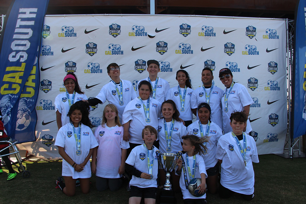 Valley Center TOPSoccer State Cup Champs