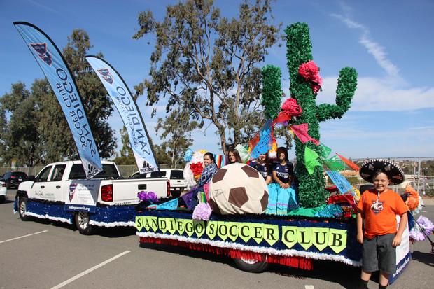 San Diego Soccer Club Cinco De Mayo Parade