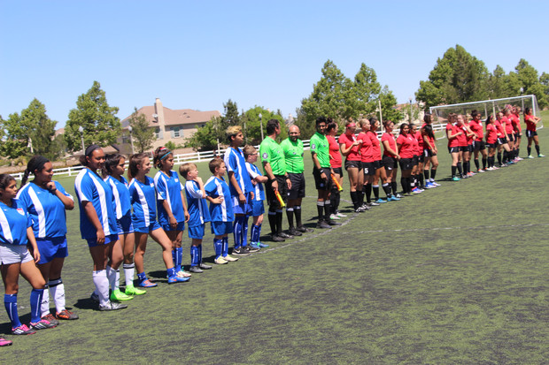 Valley Center TOPSoccer Attends the National College Cup Showcase in Temecula