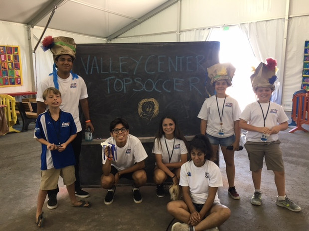 Valley Center TOPSoccer Athletes and Buddies Enjoy the San Diego County Fair Together