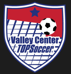 Check Out Valley Center TOPSoccer New Logo
