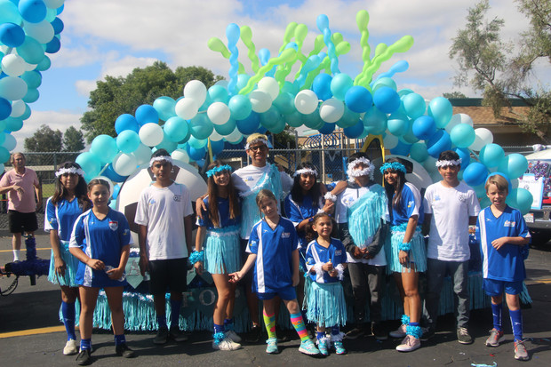 Valley Center TOPSoccer Joins the Western Days Parade