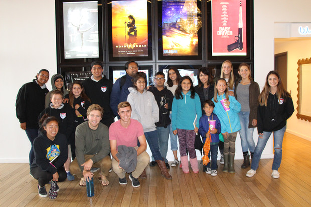 Valley Center TOPSoccer Buddy Appreciation Movie Day with SDSC