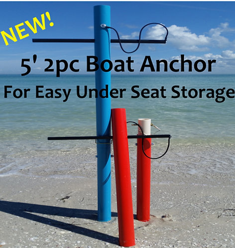 5'- 2Pc. Boat Anchors