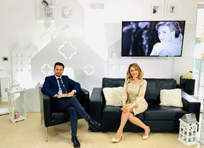 """Intervista a """"Live Social""""con Genny Maggiore."""