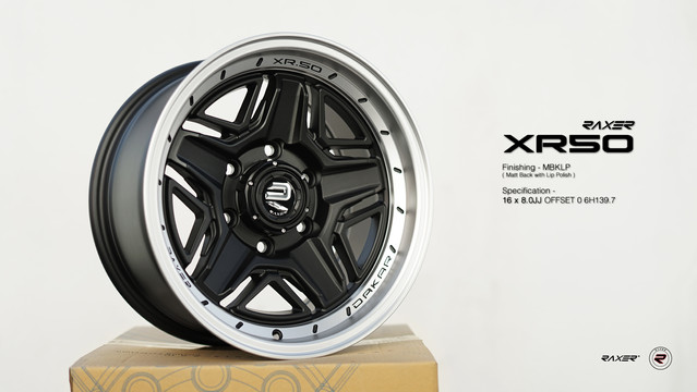 R XR50 6H139.7