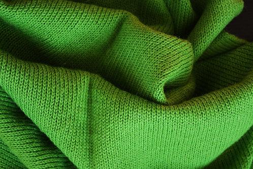 XL Scarf 100% Alpaca Wool Grasshopper Green