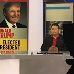 _MarcoGutierrez At Telemundo working for Latinos For Trump!!!