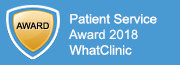 WhatClinic2018 award badge.png