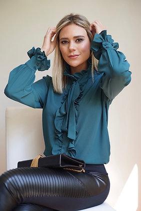 Camisa Anne Verde