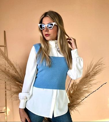 Colete Nina Azul