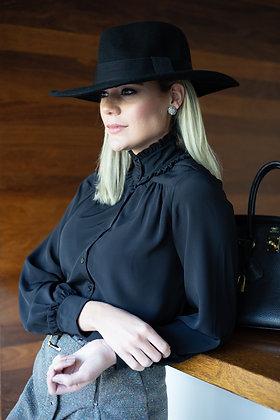 Camisa Jacqueline Preta