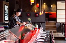 Notre Chef au Sushizen Palace