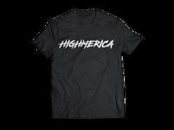 T-Shirt-MockUp-HM-Black_Front_white