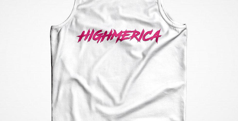 HIGHMERICA WHITE TANK