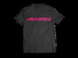 T-Shirt-MockUp-HM-BLACK_Front_PINK