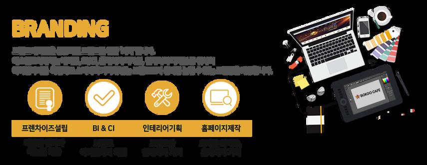 브랜딩 브랜드 네이밍은 성공적인 브랜드를 위한 시작입니다. 에스엔코웍에서는 네이밍 비아이 씨아이 홈페이지 디자인 인테리어 디자인 등 귀사의 아이덴티티를 확립하고 소비자의 기억에 남는 브랜드로서 신뢰를 높일 수 있는 브랜딩을 제공합니다