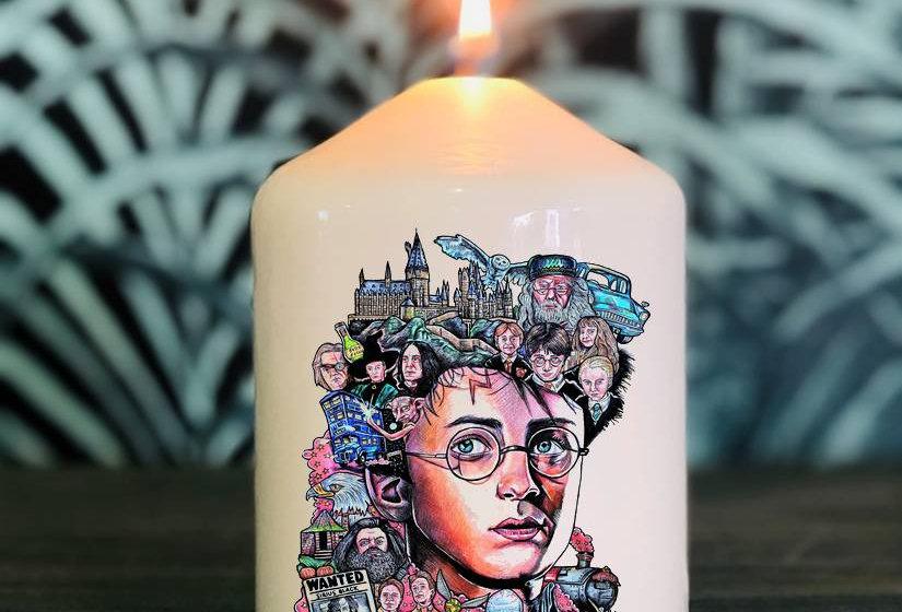 Bougie Harry Potter tatoo By Little Sams Art