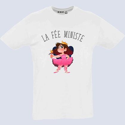 T-shirt unisexe La fée ministe feministe