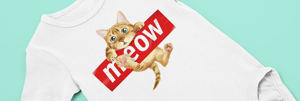 Body Bébé chat meow