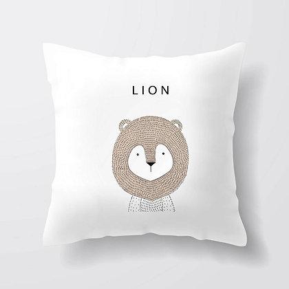 Housse de coussin Lion Illustration 37