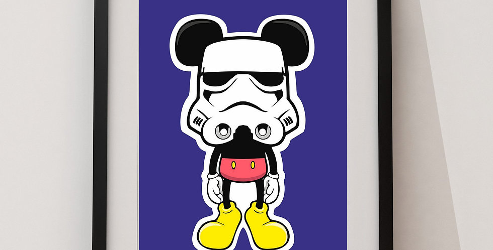 Affiche Mouse trooper 45