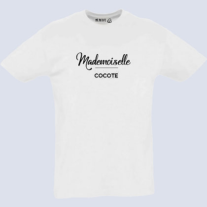 T-Shirt Unisexe Mademoiselle collection