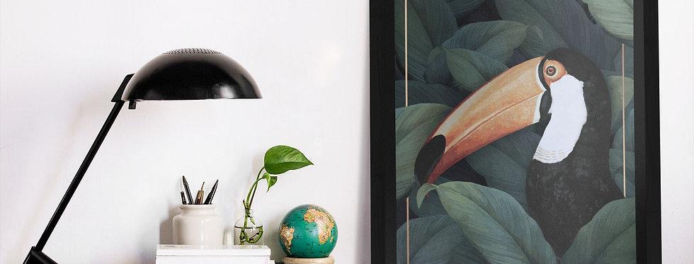 Affiche Illustration toucan 365
