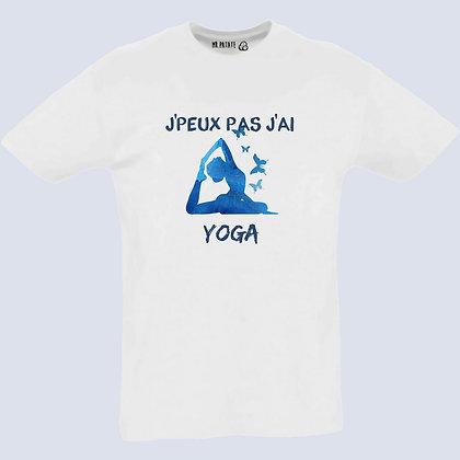 T-Shirt Unisexe J'peux pas j'ai yoga
