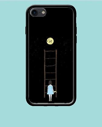 Coque mobile iPhone décrocher la lune 175