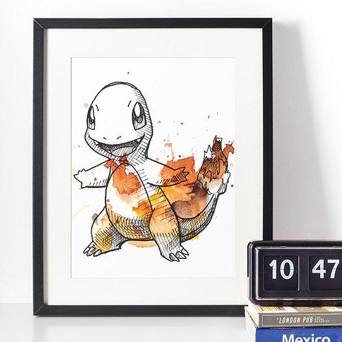Affiche Dessin Pokemon