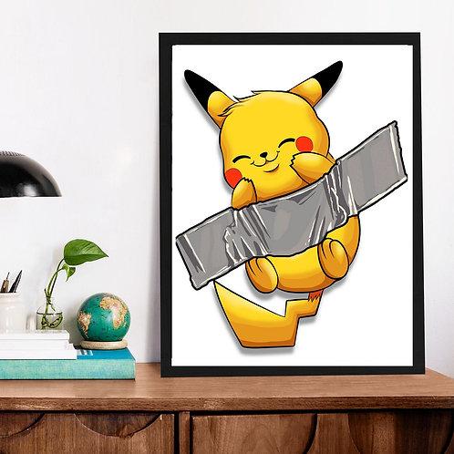 Affiche Pikachu