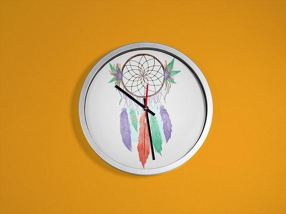 Horloge imprimé Attrape rêves dreamcatcher