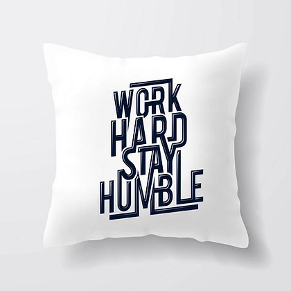 Housse de coussin Work hard Citation 40