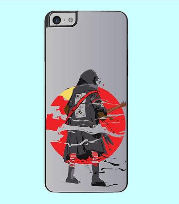 Coque mobile iPhone samouraï rockeur 24