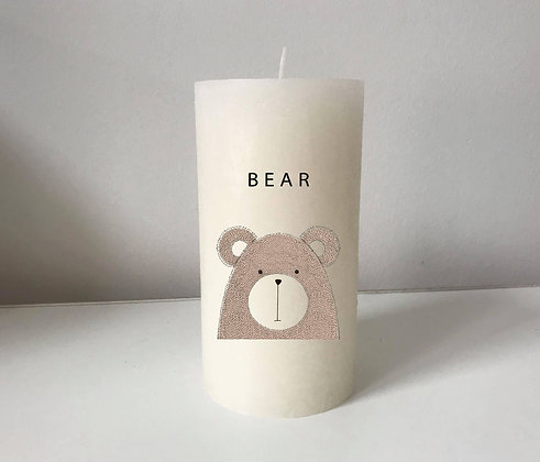 Bougie Personnalisée Nany Candle ours