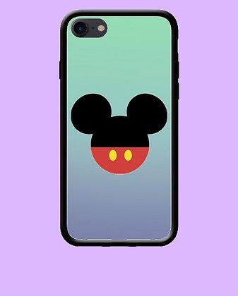 Coque mobile silhouette Mickey 261