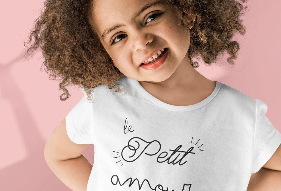 T-shirt Sweat Enfant Le petit amour à sa marraine