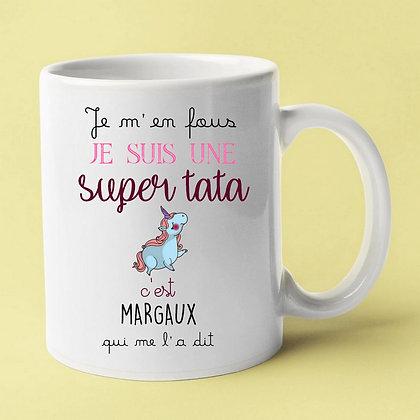 Mug personnalisable avec son prénom