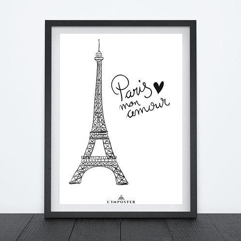 Affiche Paris mon amour 213