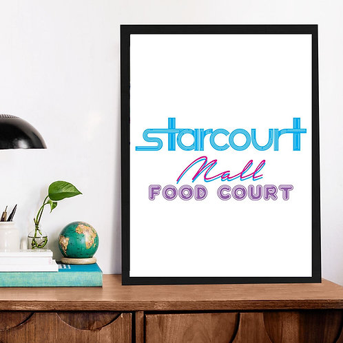 Affiche Starcout stranger thing