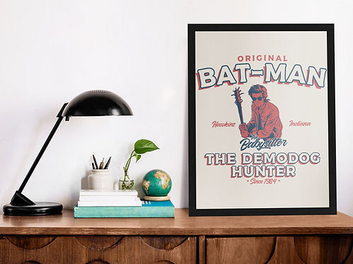 Affiche citation batman