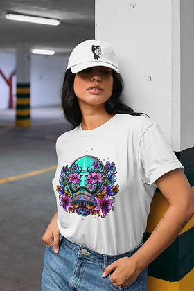 T-shirt Star trooper Fleuris