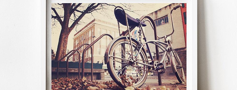 Affiche photo vélo vintage 173