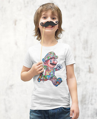 T-shirt/Sweat Mario tatoo By Little Sams Art