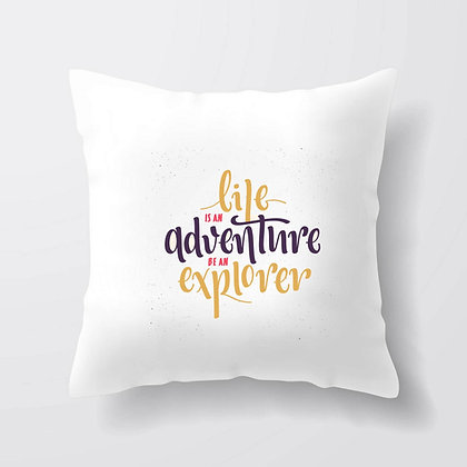 Housse de coussin Adventure Citation 85