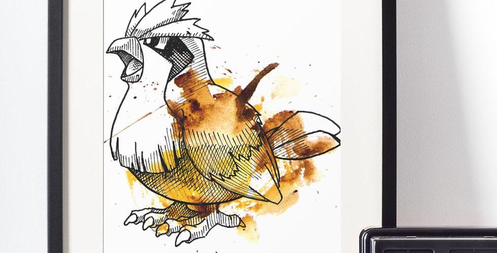 Affiche Dessin Pokemon 469